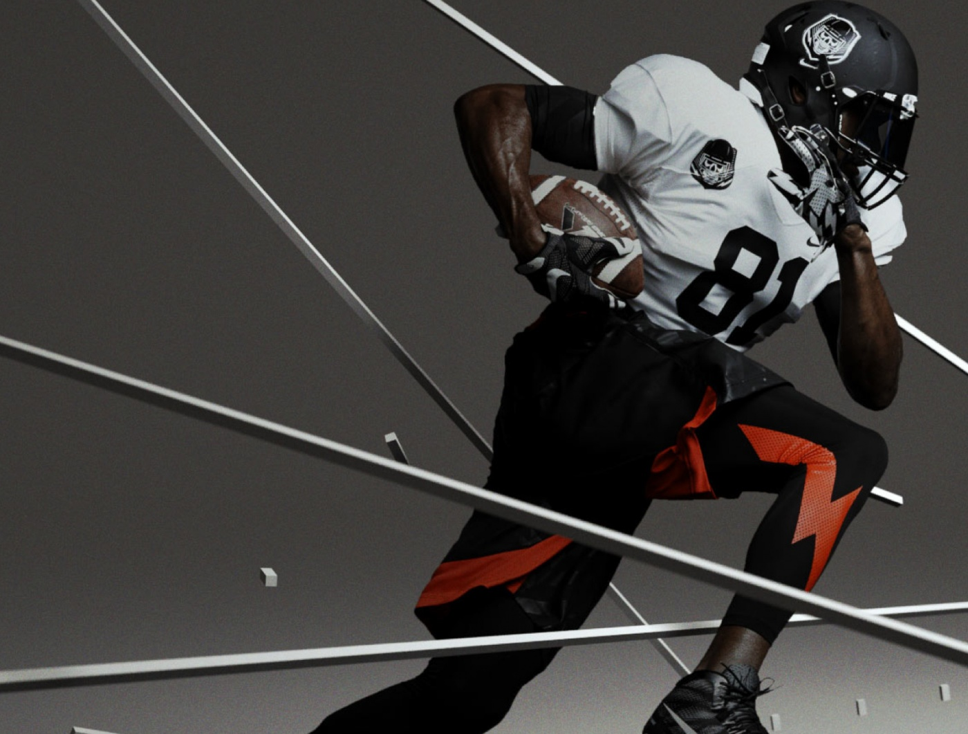 : FIELD Nike Untouchable Speed Index Comp@1 by FIELD.IO