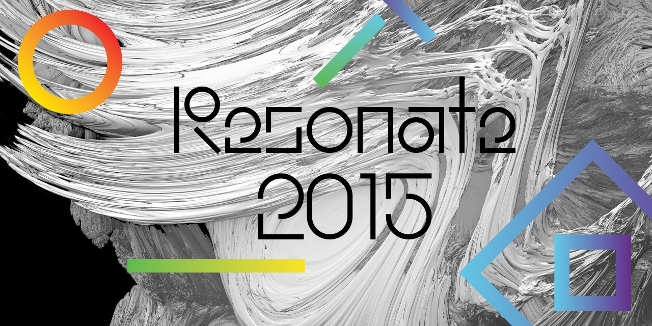 : resonate title by FIELD.IO